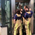 vast in lift Zaandijk Zaanse Schans