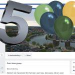 5 jaar facebookgroep Wormerveer
