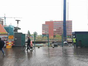 doorgang stadhuisplein