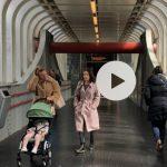voetgangersbrug station zaandam