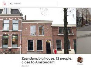 airbnb 12 mensen