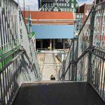 tijdelijke trap 2 station zaandam juli 2019 orkaan