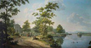 HBH - Gesigneerd behangsel Wm. Uppink, 1830 [Foto Arjan Gaarenstroom] copy