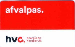 HVC Afvalpas