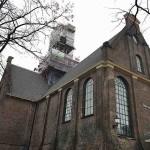 bullekerk toren steigers