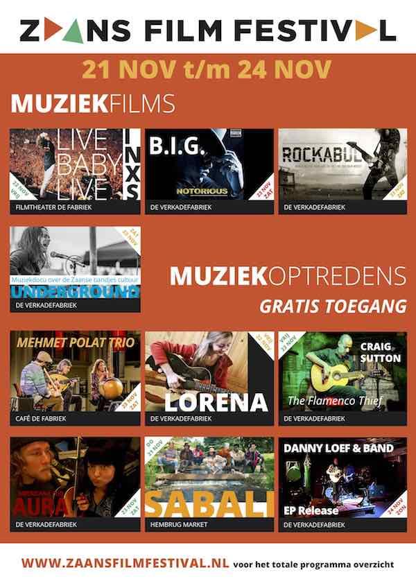 poster muziek ZFF 2019