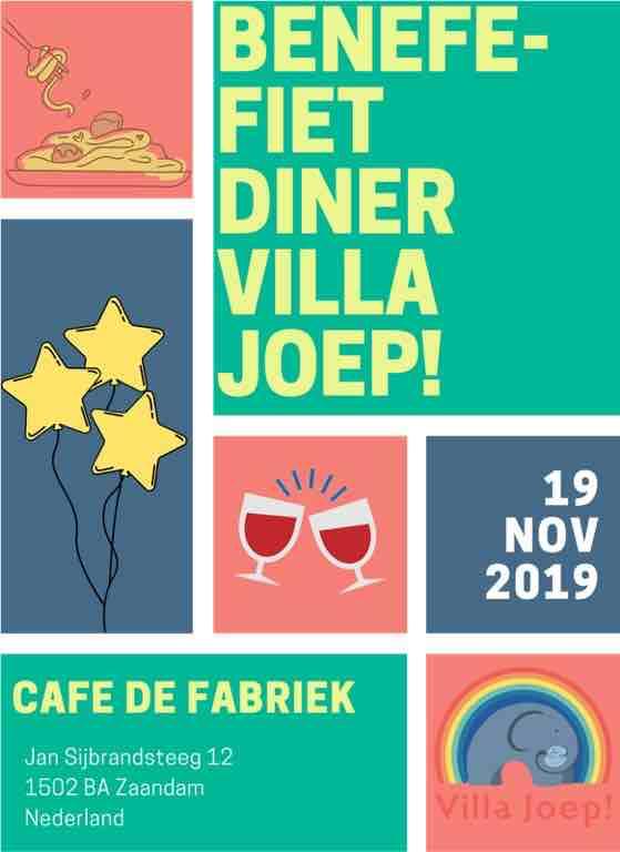 villa joep flyer