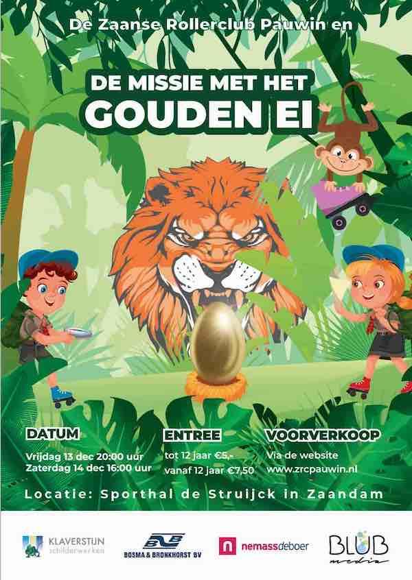 Poster Het Gouden ei 2019