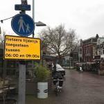 fietsers toegestaan dam
