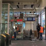 kiosk zaandam station orkaan 4 dec 2019