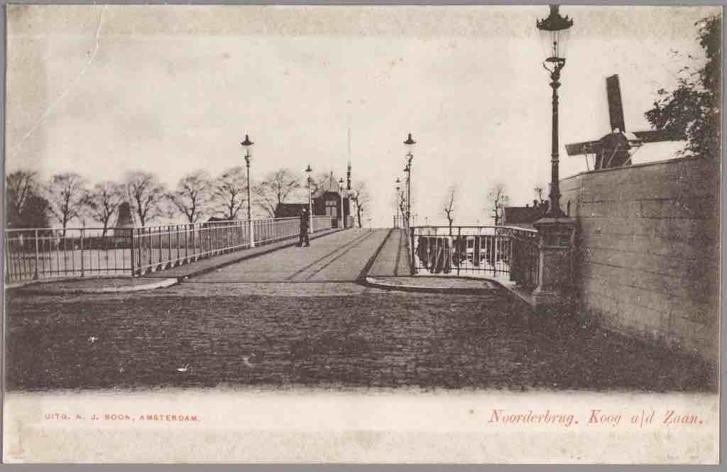noorderbrug 1910 GAZ
