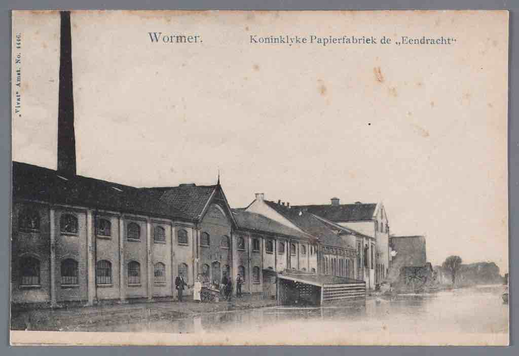 3 Papierfabriek Van Gelder, Coll. Waterlands Archief copy