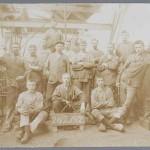 4 Medewerkers van de smederij van Van Gelder, Coll. Waterlands Archief copy