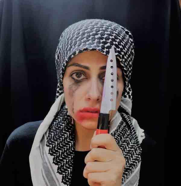 Fatimah Jawdat uit Irak zelfportret copy