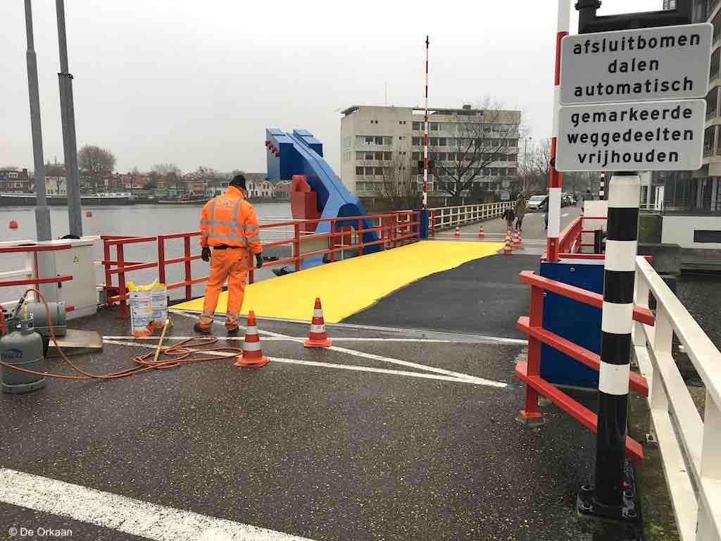 brug eiland geel dec 2019 orkaan 2