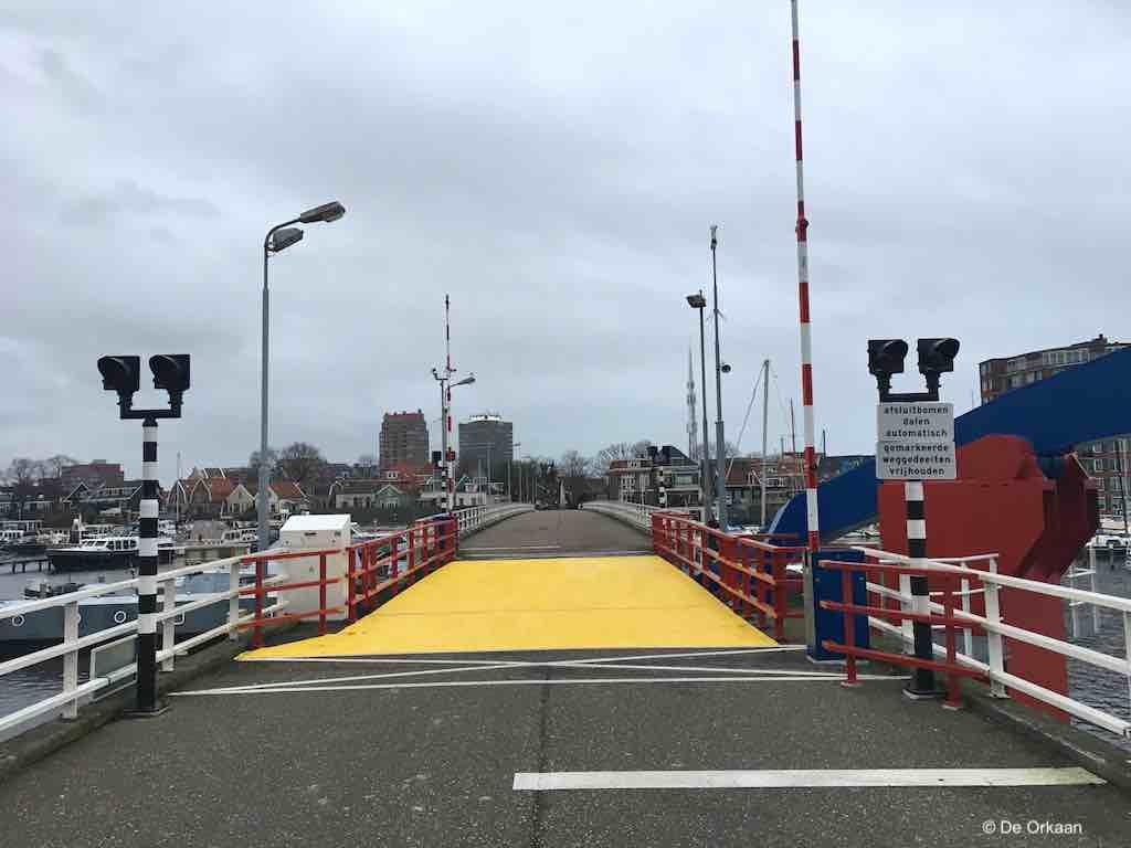 brug eiland geel jan 2020 orkaan