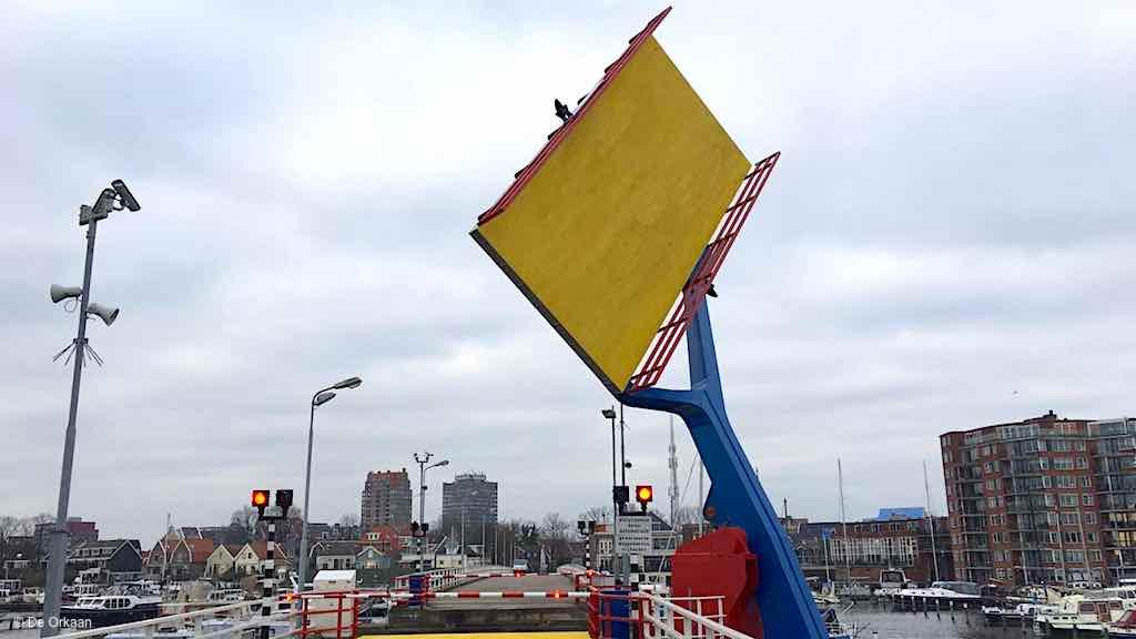 brug open zaaneiland geel orkaan jan 2020