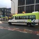 bussen elektrisch beatrixbrug orkaan jan 20120