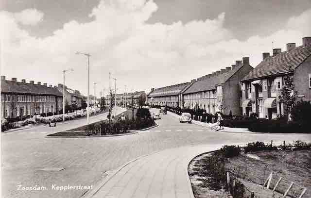 kepplerstraat ca 1960