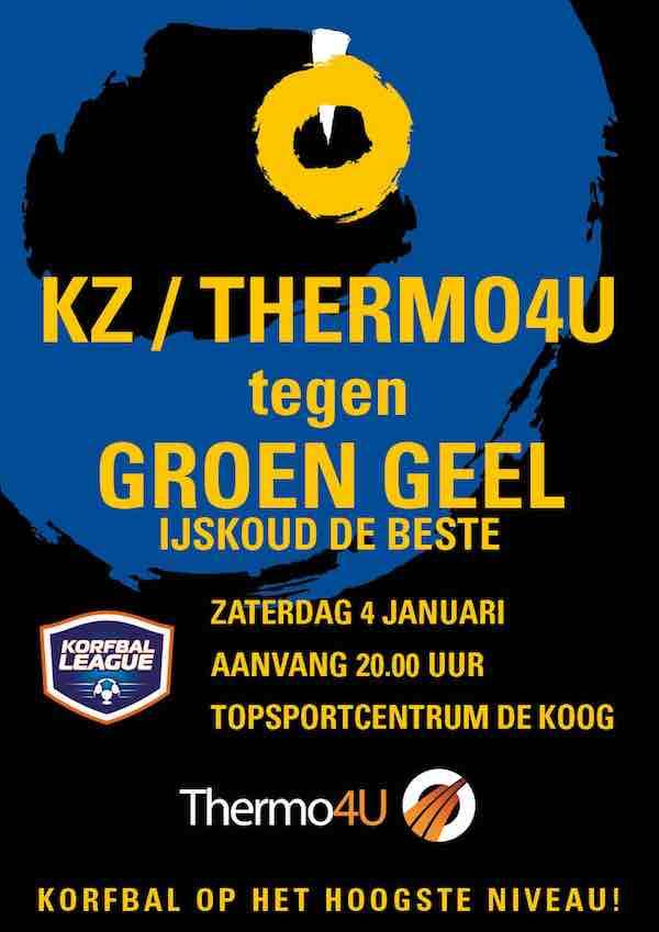 kz groengeel affiche jan 2020