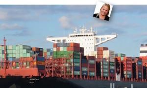 merel kan containerschip