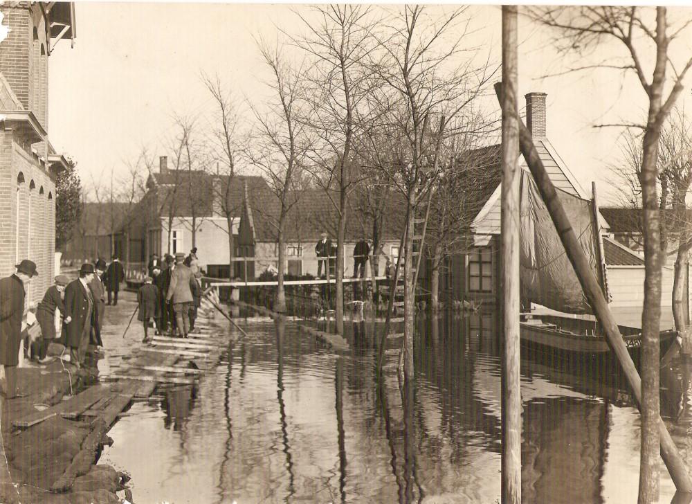 watersnood 1916 zaandam