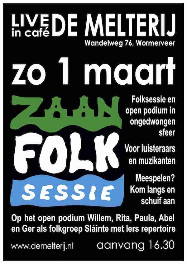 ZaanFolk Sessie mrt 2020