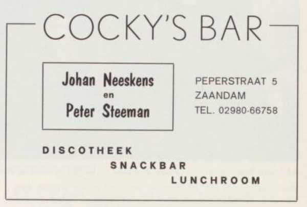cocky's bar