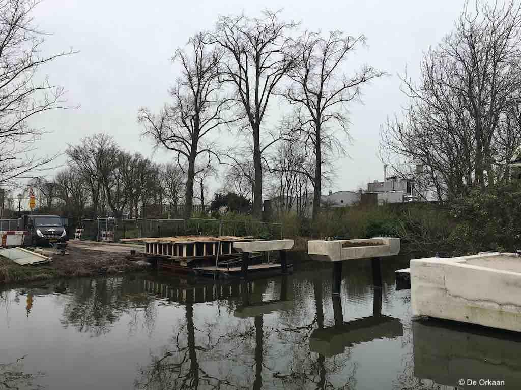 brug parkstraat 28 feb 2020 orkaan