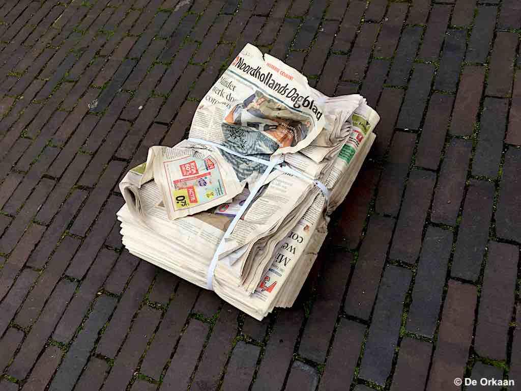 noordhollands dagblad maart 2020 orkaan
