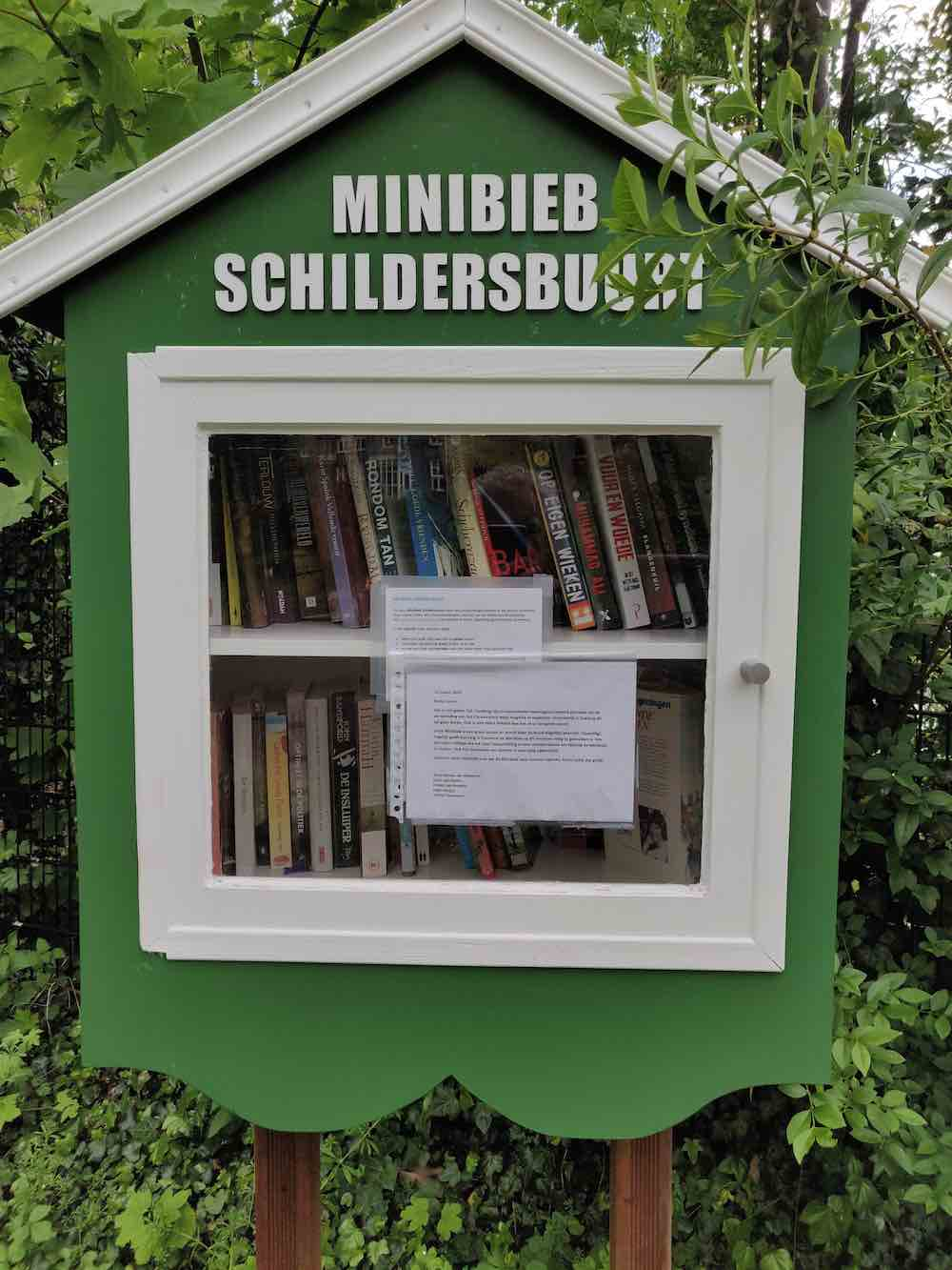 Minibieb Schildersbuurt copy