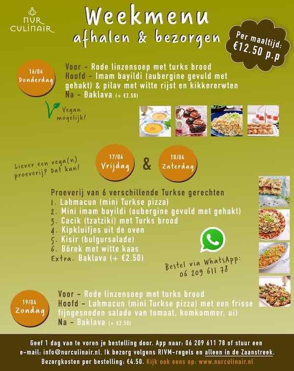 nur menu