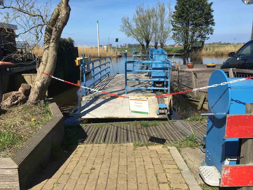 Pontje Oostknollendam dicht