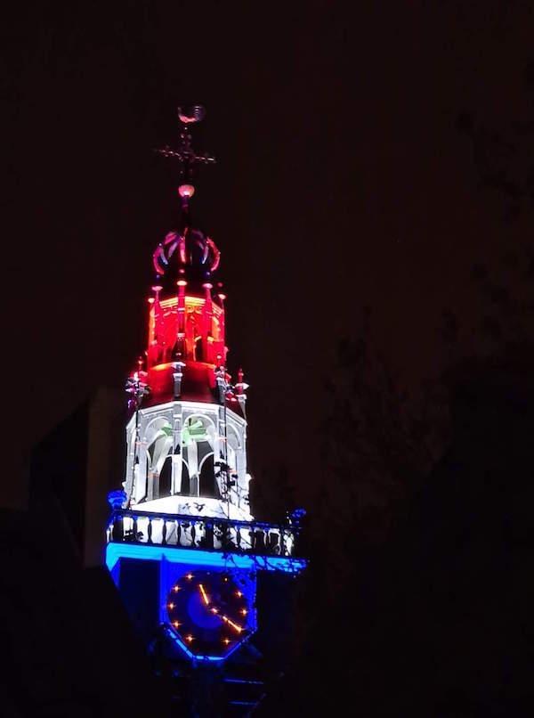 rood wit blauw bullekerk
