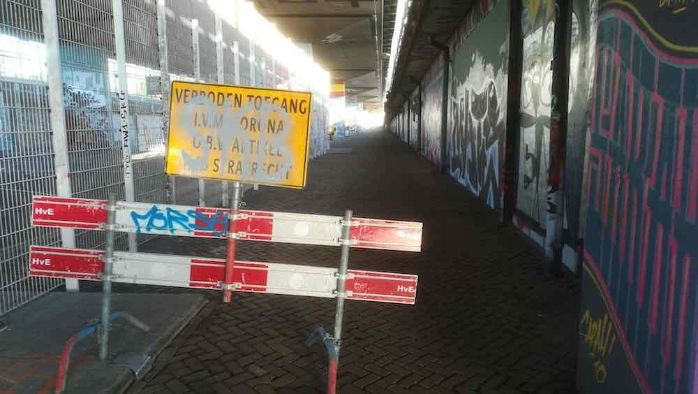 skatepark A8 koog gesloten sely friday