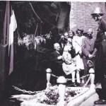 Onthulling monument voor Jan Kuijper (collectie Els Koolman-Kui