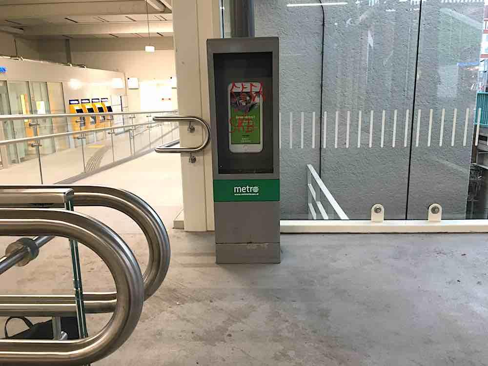 metro station zaandam