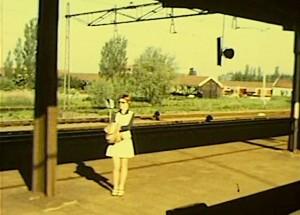 station zaandam westzijderveld 1971