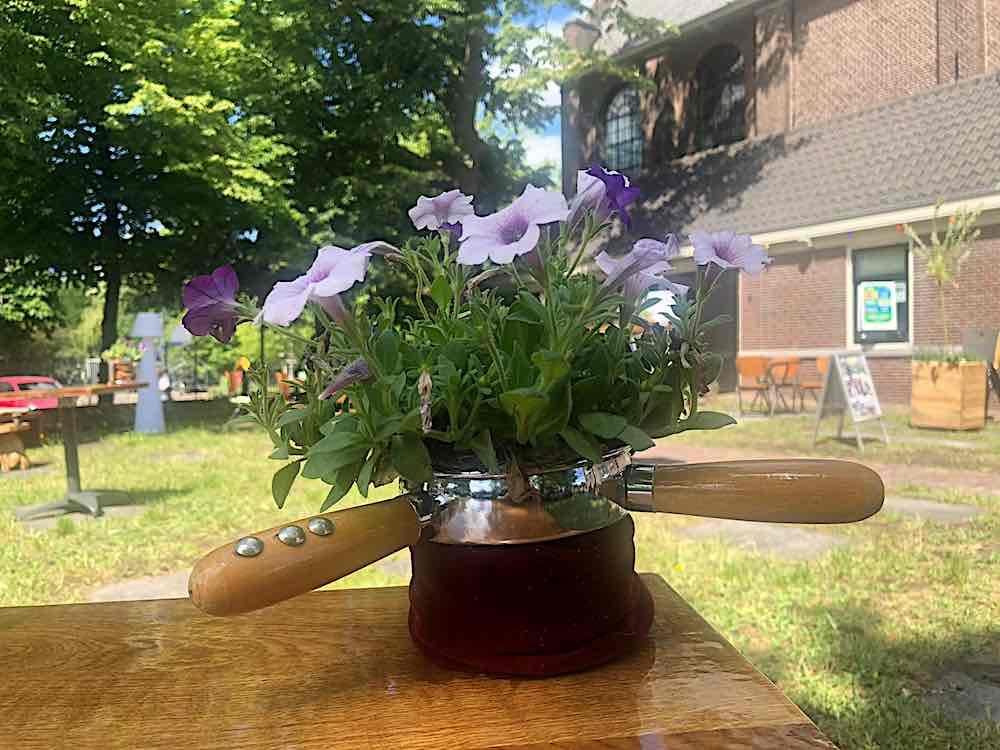 collectezak bloempot bullekerk