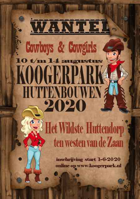 huttenbouw koogerpark affiche
