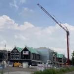 nieuwbouw buut westerkim 19 juni 2020 orkaan