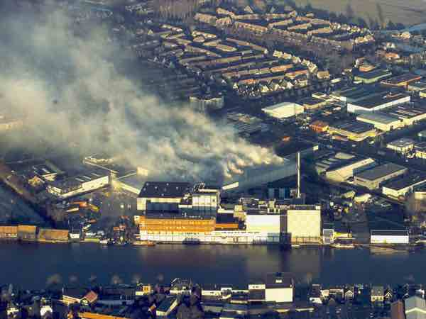 Brand in Wormer 2003