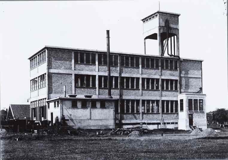 Cacaofabriek De Mooriaan van Wessanen. Begin jaren 20