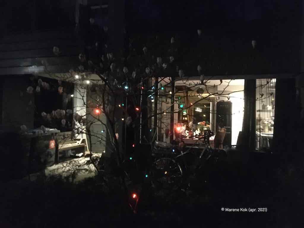 Avondklok-lichtpuntje (89): Schepenlaan, Zaandam