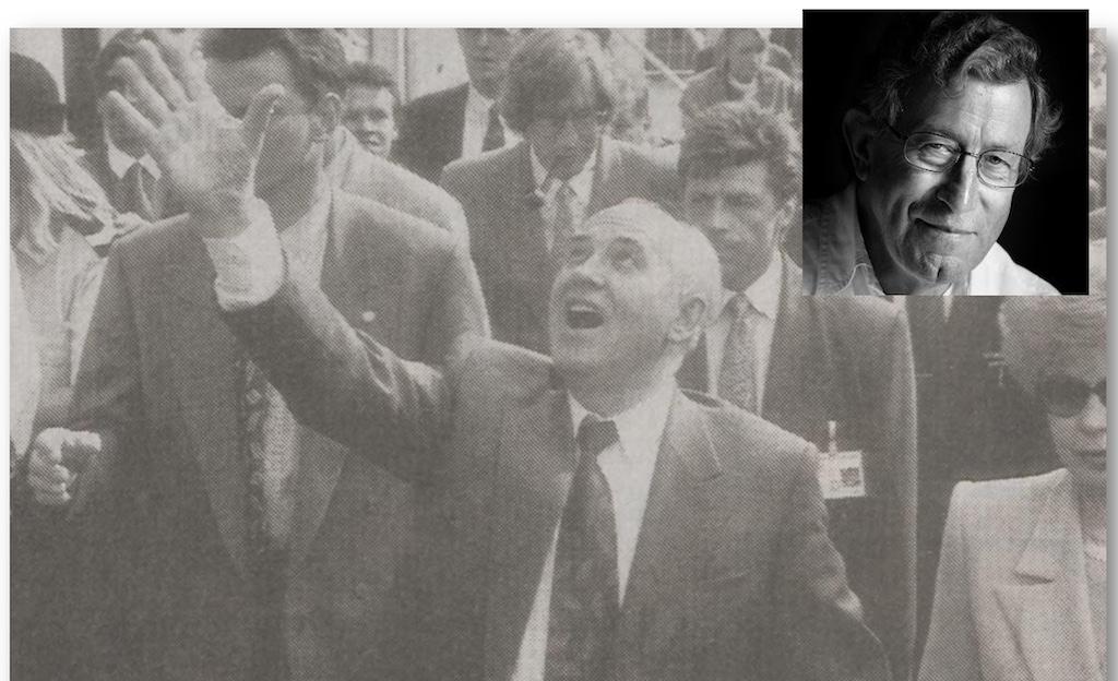 Ulke Brolsma: Czaar Gorbatsjov in het Czaar Peterhuis